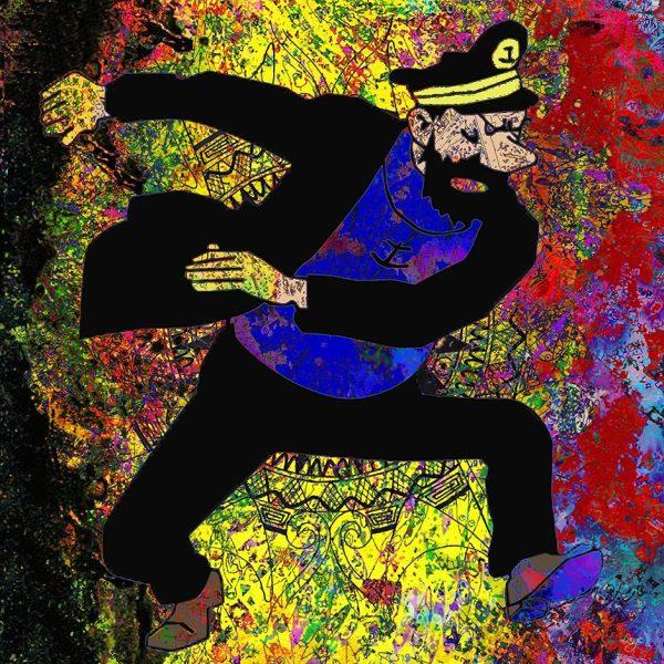 Christian Lange - BD Belge - Capitaine Haddock