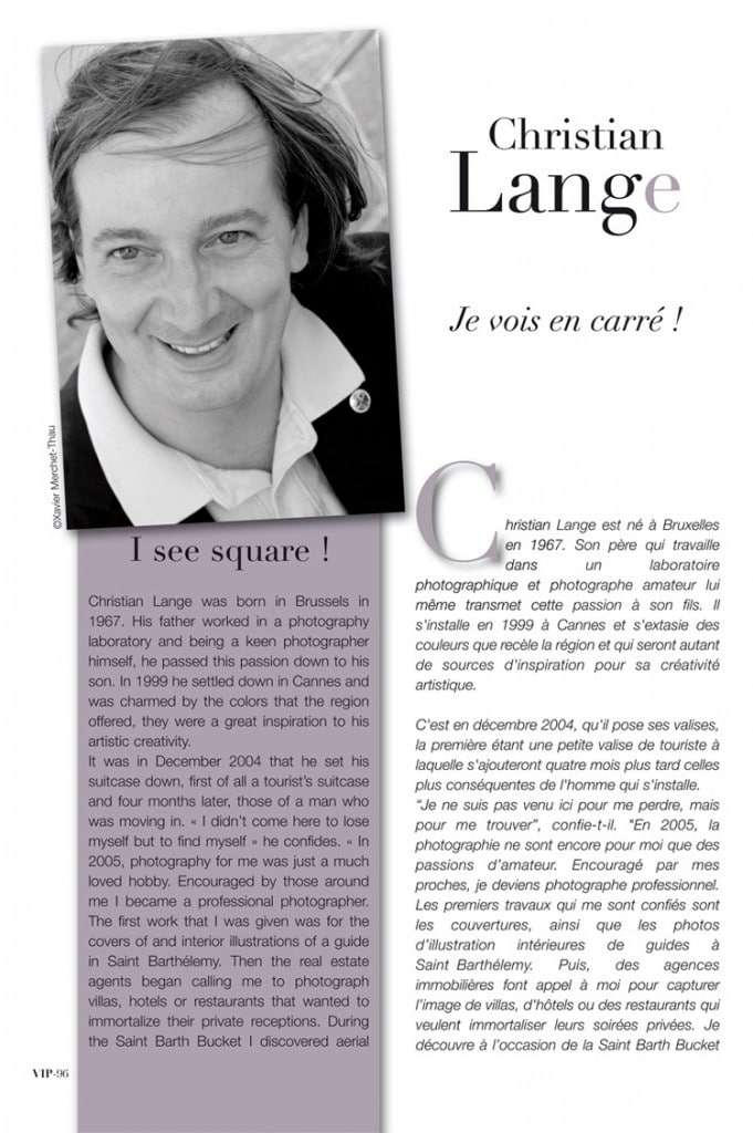 Christian L. Lange - Guide VIP 2011