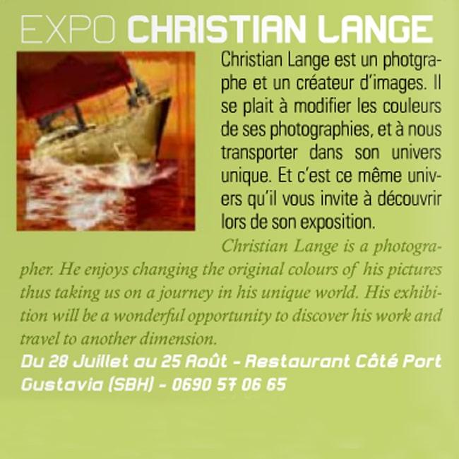 Christian L. Lange - Magazine Tam Tam 2012
