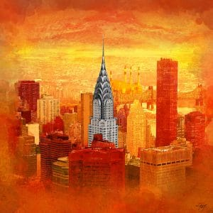 Christian Lange - Orangyork - Chrysler Building