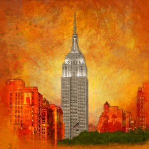 Christian Lange - Orangyork - Empire State Building