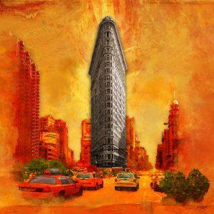 Christian Lange - Orangyork - Flatiron Building