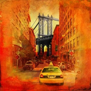 Christian Lange - OrangYork - Manhattan Bridge