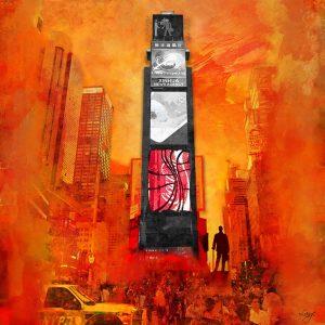 Christian Lange - Orangyork - Times Square