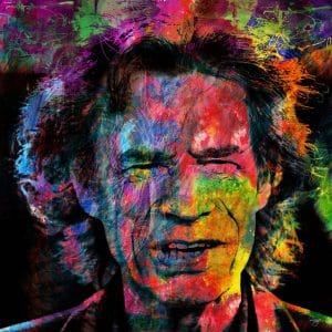 Christian Lange - Mick Jagger