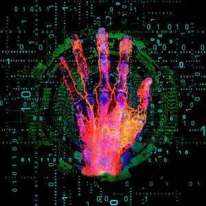 Christian Lange - Pop Art Hand Scanner