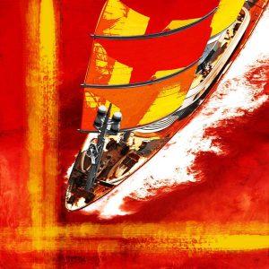 Christian Lange - Saint Barth Bucket - Red Falcon