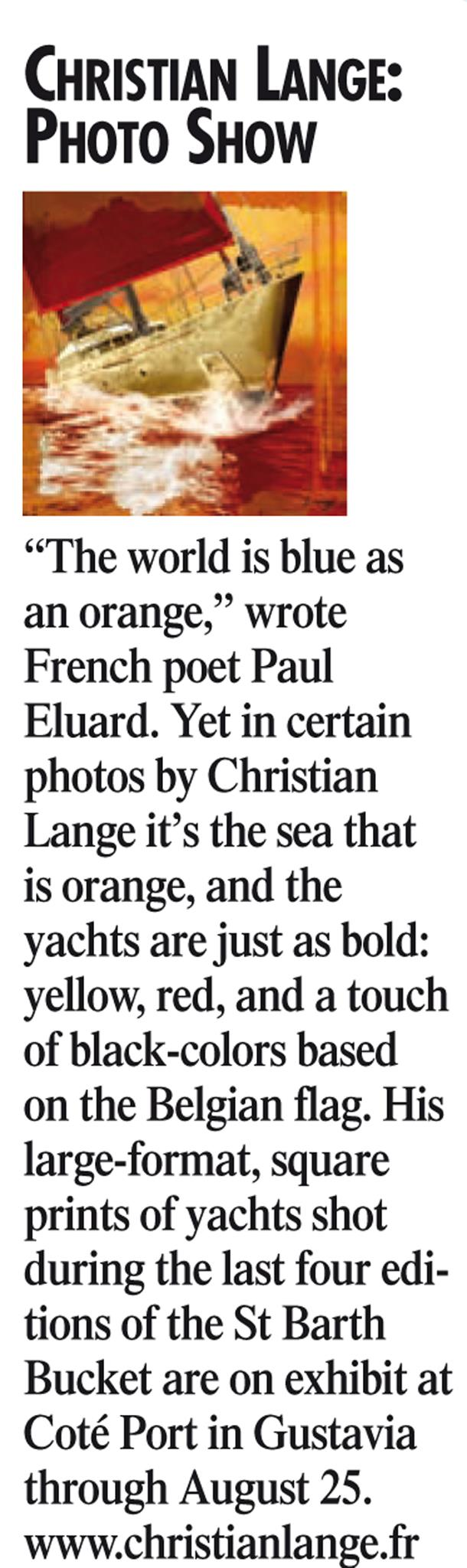 Christian L. Lange - The Weekly - Juillet 2012