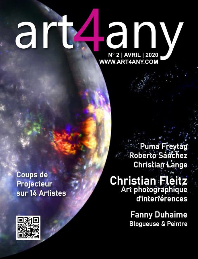 Christian Lange - Magazine Art4Any - avril 2020